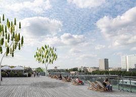 Eolien: l'arbre à vent français arrive aux États-Unis