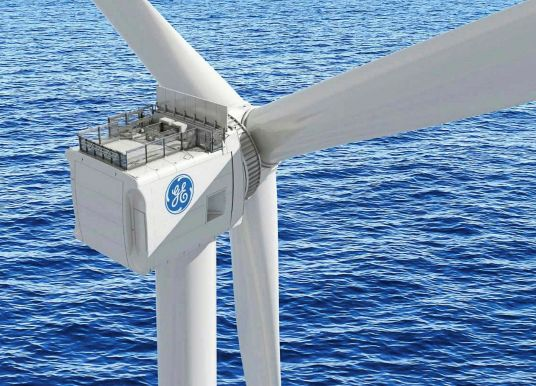 Renouvelable : le suédois Vattenfall projette de déployer la super éolienne offshore de GE