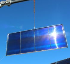 Savosolar livre à Kyotherm Solar le plus grand système de chauffage solaire en France
