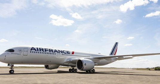 Air France reçoit son premier A350