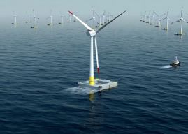 La plus grande éolienne flottante au monde commence à produire de l'électricité